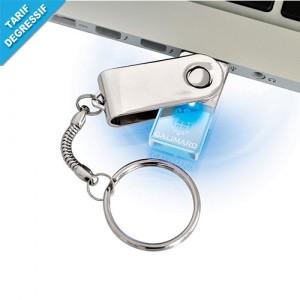 PORTE-CLE USB CRISTAL GALIMARD
