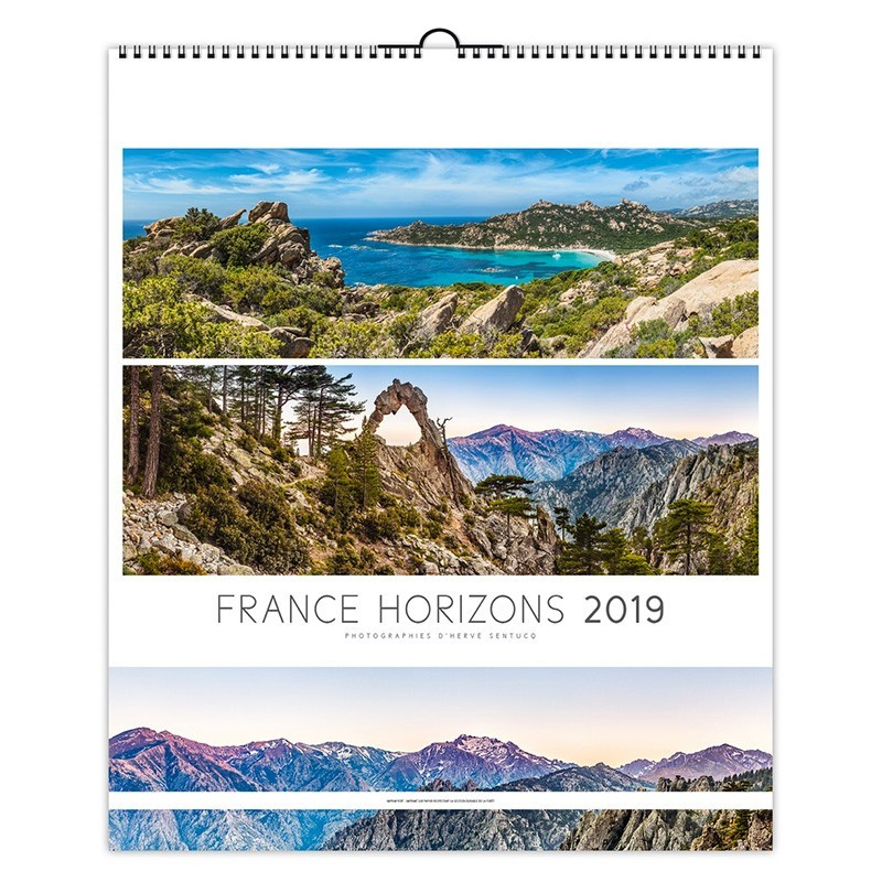 FRANCE HORIZONS - ILLUSTRE 13 FEUILLETS