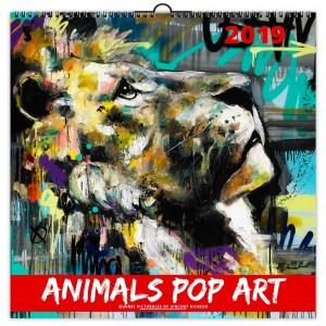 ANIMALS POP ART - 7 FEUILLETS
