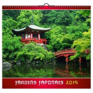 JARDINS JAPONAIS - 7 FEUILLETS