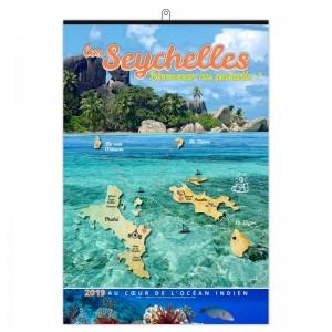 LES SEYCHELLES - 7 FEUILLETS