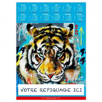 ANIMALS POP ART - POSTER