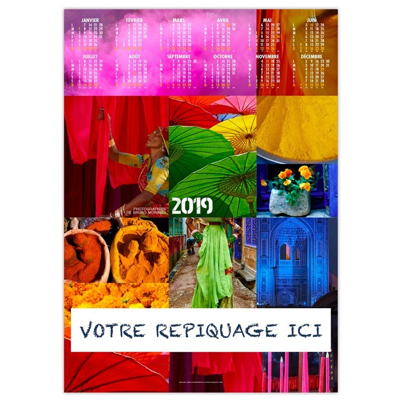 COULEURS VOYAGES - POSTER