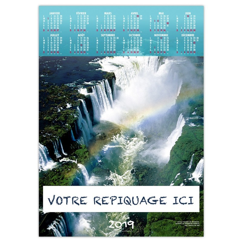 CASCADE MAJESTUEUSE - POSTER