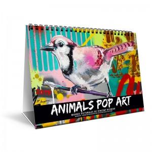 CHEVALET POP ART - 7 FEUILLETS