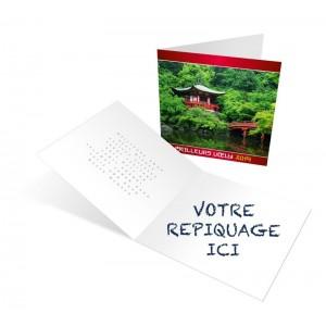 JARDINS - CARTE DE VOEUX