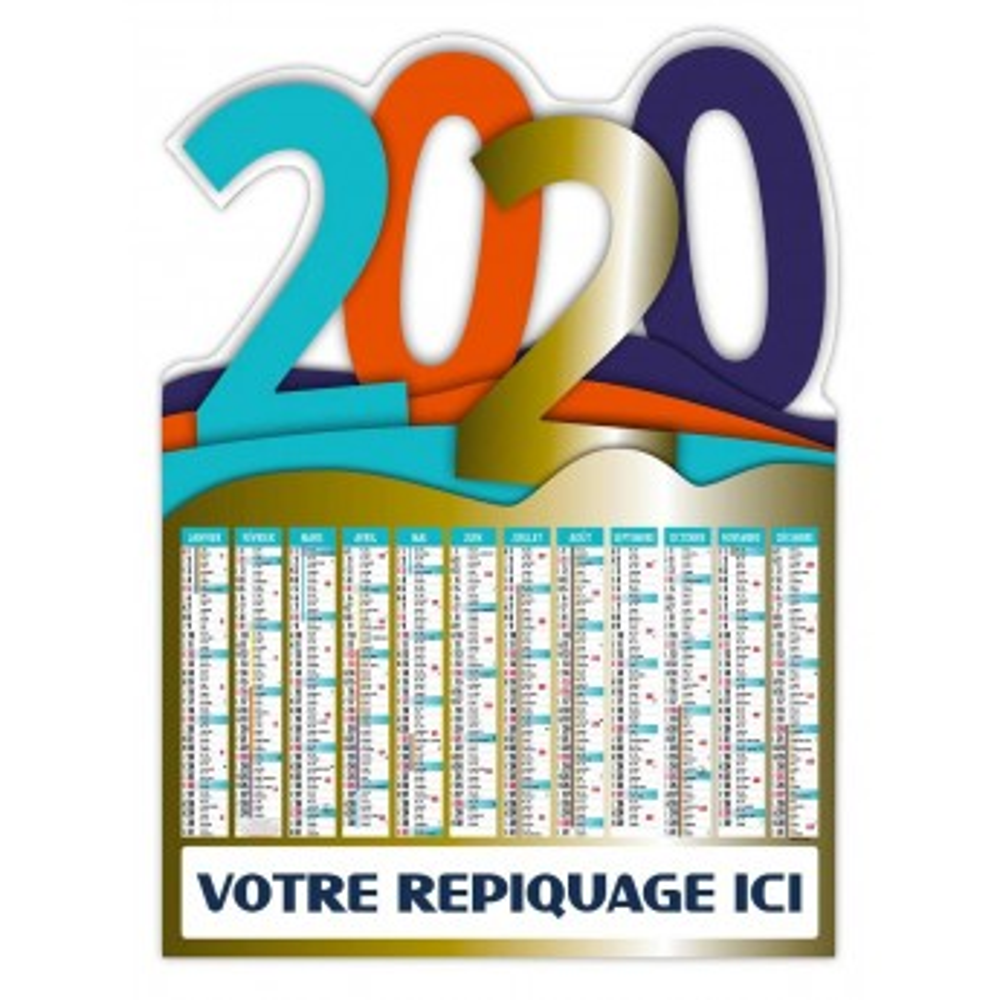 MILLENIUM 2020 - BANCAIRE VERTICAL RIGIDE DÉCOUPÉ