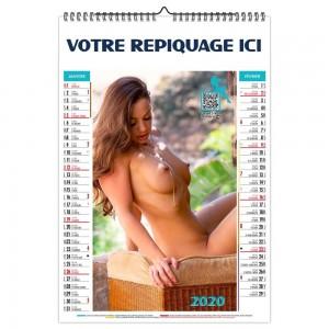 BLOC ILLUSTRÉ CARMEN SPIRALE 2020 - 6 FEUILLETS