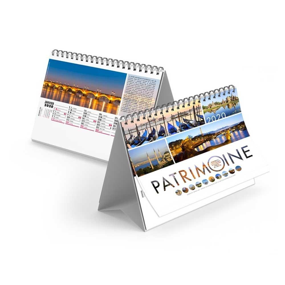 CHEVALET PATRIMOINE 2020 - 13 FEUILLETS