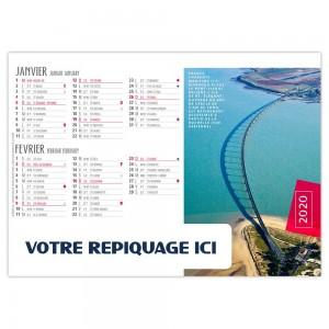 CHEVALET OUVRAGES D'ART 2020 - 7 FEUILLETS