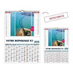 CALENDRIER OUVRAGES D'ART 2020 - 2 EN 1