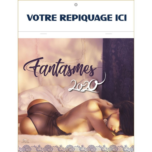 CALENDRIER FANTASMES 2020 - AGRAFE 7 FEUILLETS