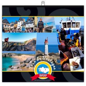 TOUR DE BRETAGNE 2020 - 7 FEUILLETS