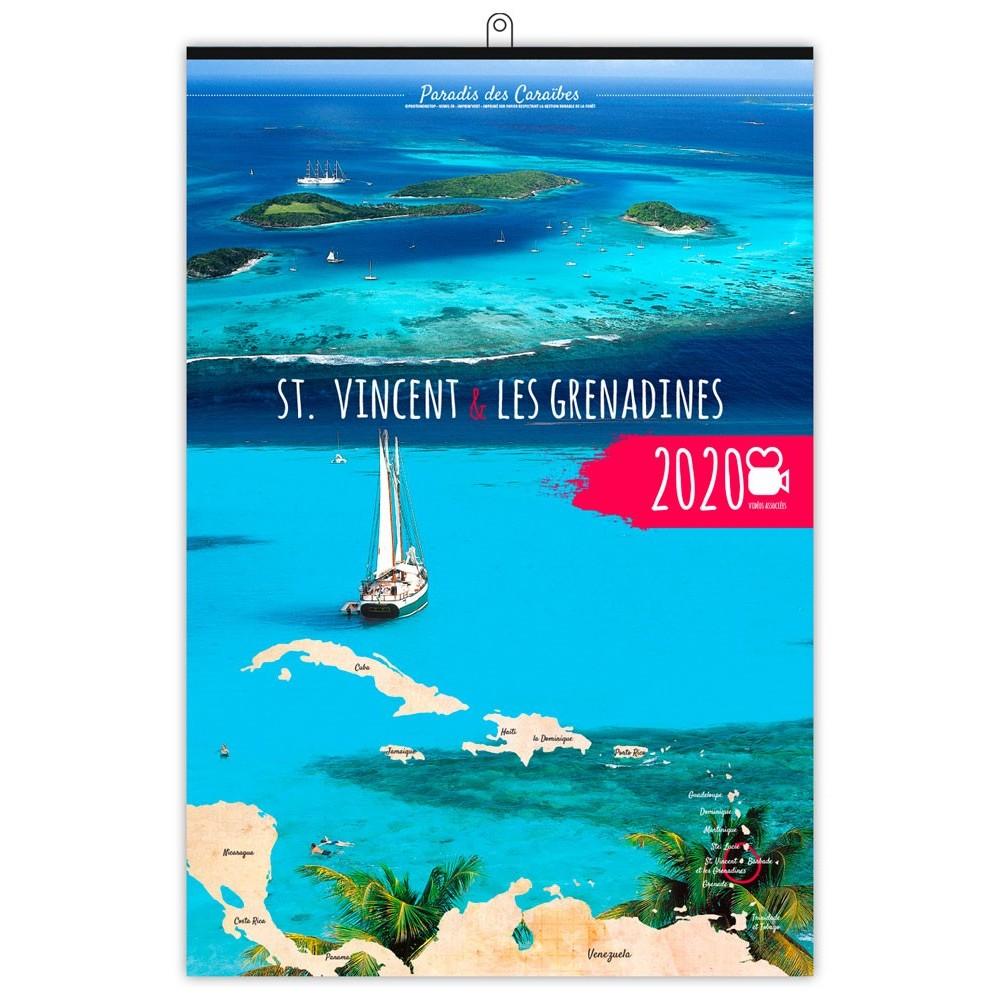 ST VINCENT ET LES GRENADINES 2020 - 7 FEUILLETS