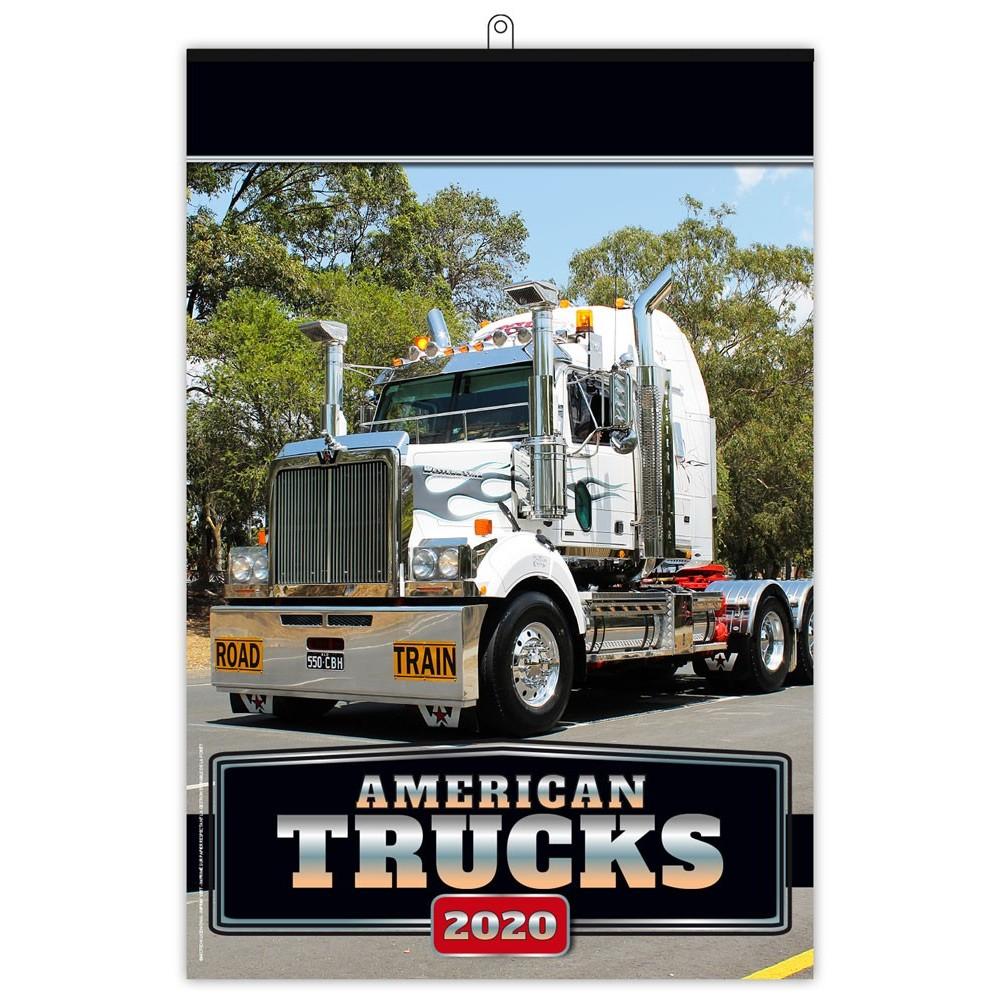 AMERICAN TRUCKS 2020 - 7 FEUILLETS
