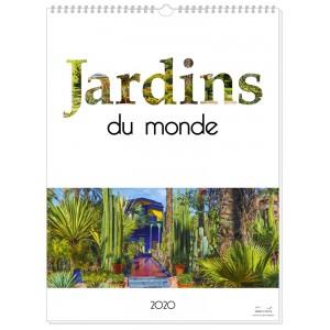 JARDINS DU MONDE 2020 - 13 FEUILLETS