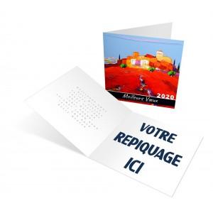 IMAGINAIRES - CARTE DE VOEUX 2020