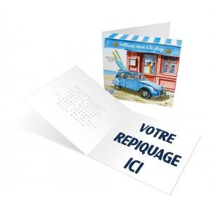 PLAGE - CARTE DE VOEUX 2020