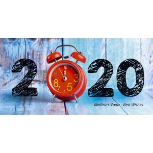TIC-TAC - CARTE DE VOEUX 2020
