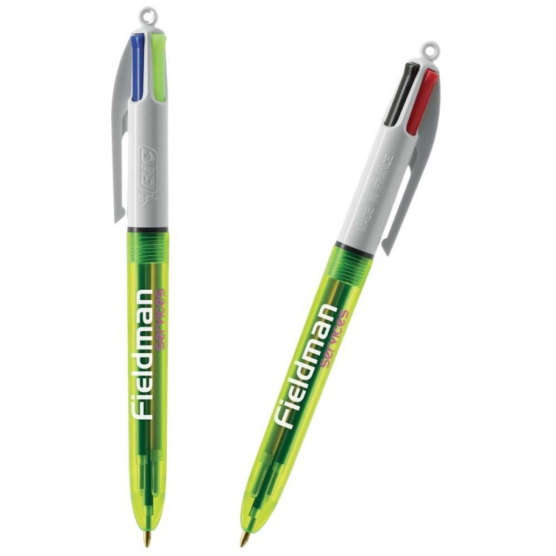 STYLO BILLE 4 COLOURS FLUO BIC®