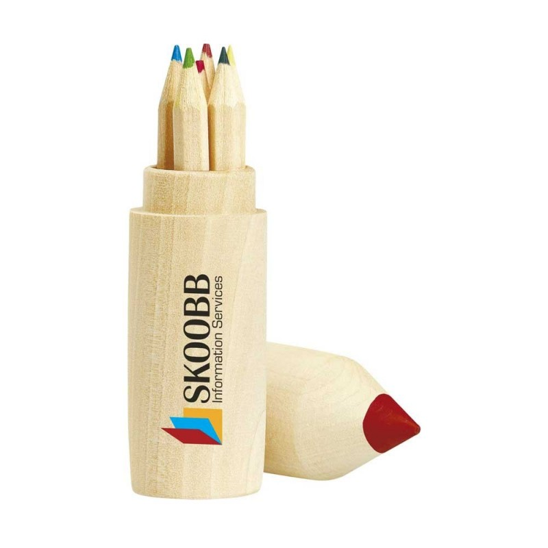 SET BOIS 6 CRAYONS COLORWOODY