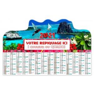 BANCAIRE OCÉANIE DÉCOUPÉ RIGIDE - 2021