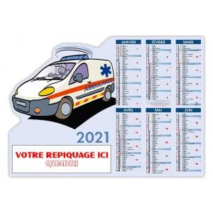 PRO AMBULANCIER DECOUPÉ 2021 - SOUPLE CARTON