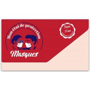 ETUI MASQUE PVC SOUPLE