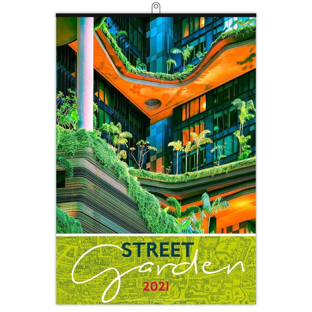 STREET GARDEN 2021 - MURAL 7 FEUILLETS