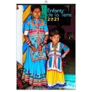ENFANTS DE LA TERRE 2021 - MURAL 7 FEUILLETS