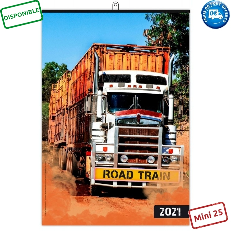 ROAD TRAIN 2021 - MURAL 7 FEUILLETS