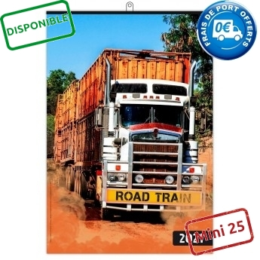 ROAD TRAIN 2021 - MURAL 7 FEUILLETS