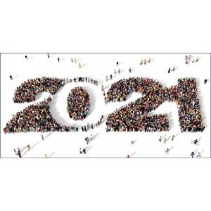 ENSEMBLE - CARTE DE VŒUX 2021
