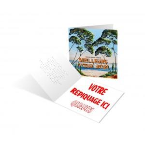 PROVENCE - CARTE DE VOEUX 2021