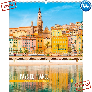 PAYS DE FRANCE 2022 - MURAL 12/13 FEUILLETS