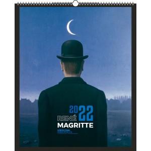 RENE MAGRITTE 2022 - MURAL 6/7 FEUILLETS