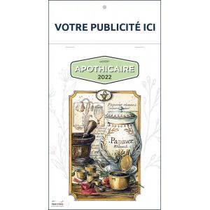 COMPACT APOTHICAIRE 2022 - BLOC ILLUSTRÉ 7 FEUILLETS