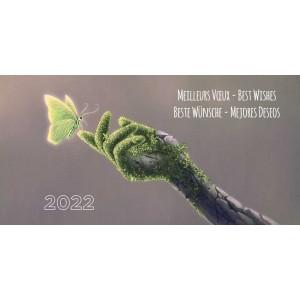 ECO GLOBE - CARTE DE VŒUX 2022