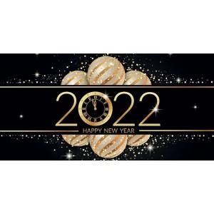 RÉVEILLON - CARTE DE VŒUX 2022