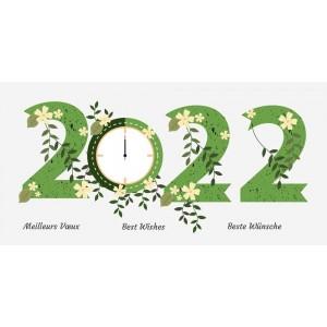 TIC-TAC - CARTE DE VŒUX 2022