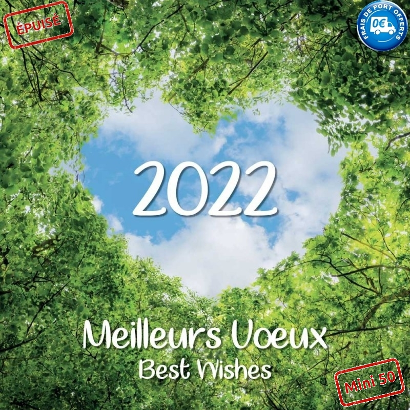 NATURE - CARTE DE VŒUX 2022