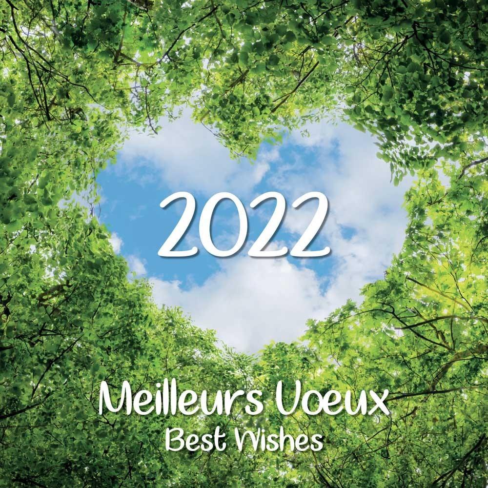 NATURE - CARTE DE VŒUX 2022