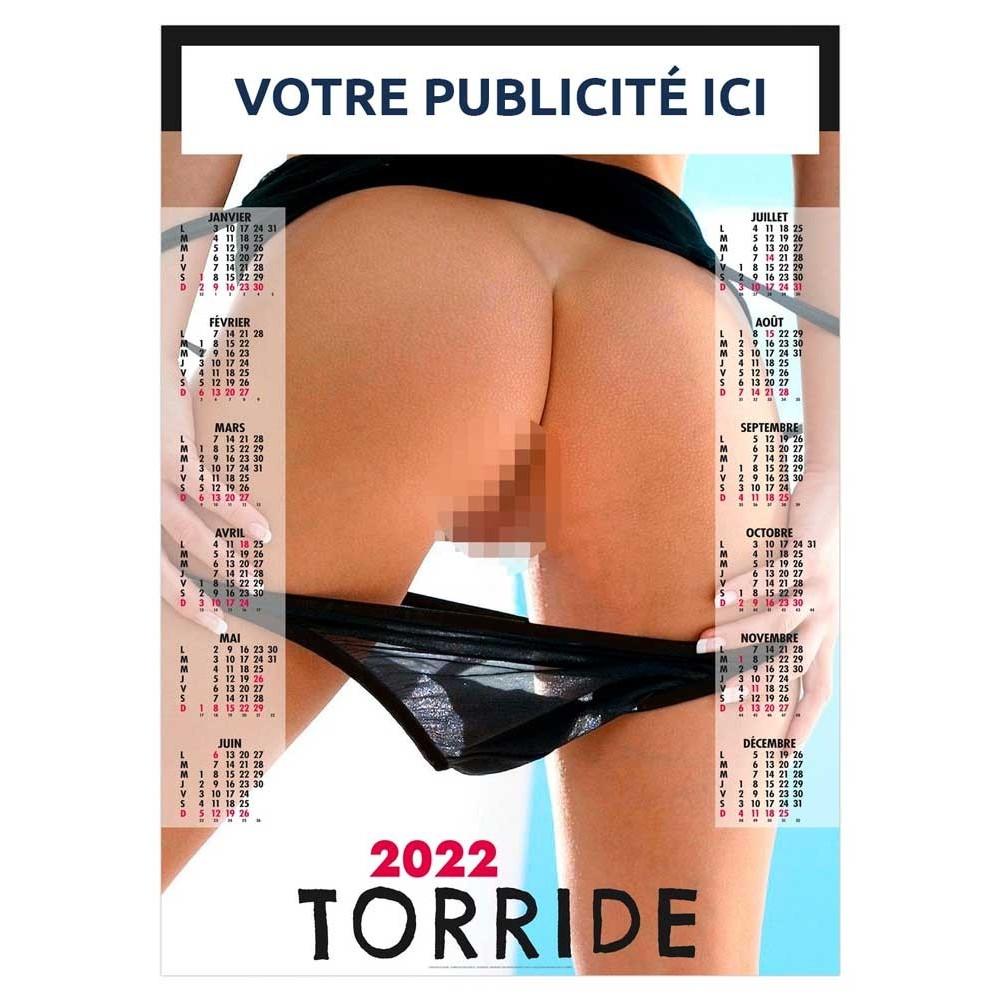 CALENDRIER POSTER TORRIDE 2022