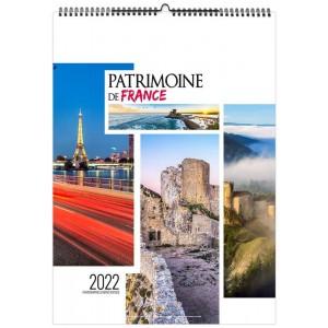 PATRIMOINE DE FRANCE 2022 - MURAL 13 FEUILLETS