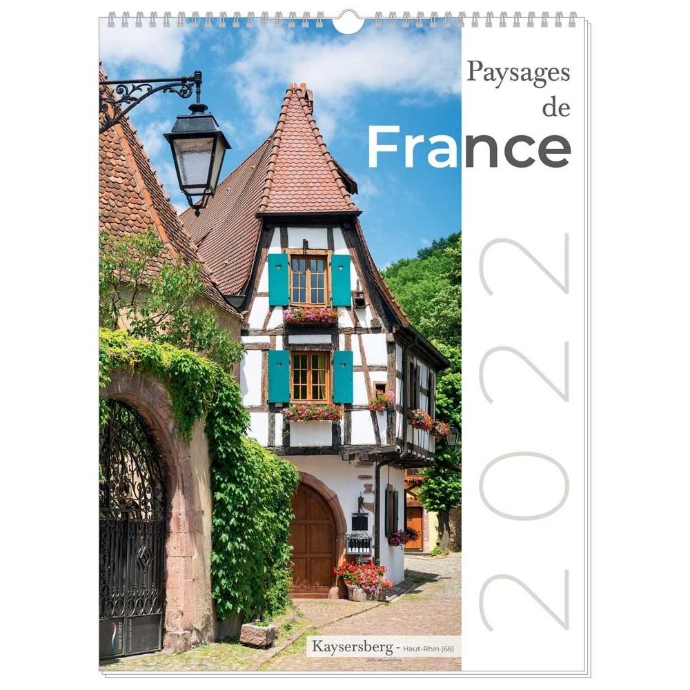 PAYSAGES DE FRANCE - MURAL 13 FEUILLETS