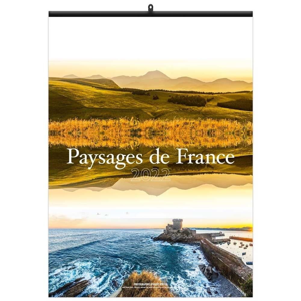 PAYSAGES DE FRANCE - MURAL 7 FEUILLETS
