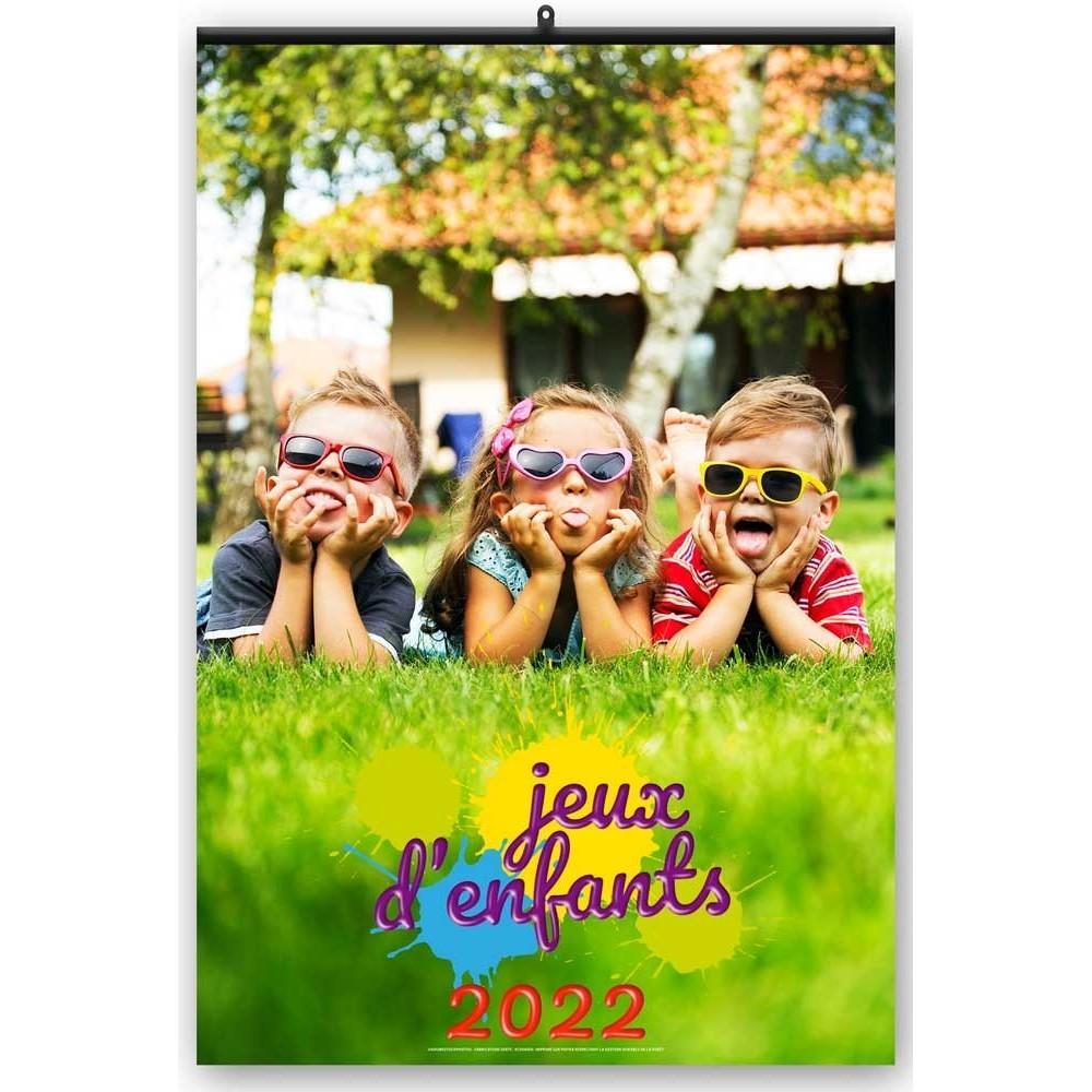 JEUX D'ENFANTS 2022 - MURAL 7 FEUILLETS