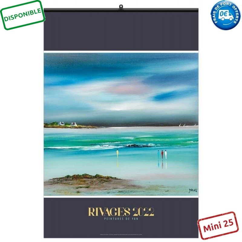 RIVAGES 2022 - MURAL 7 FEUILLETS