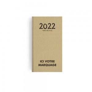 AGENDA POCHE MINI KRAFT 2022