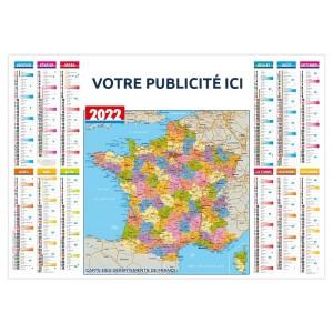 DÉPARTEMENTS 2022 - SOUS-MAIN PLASTIFIÉ